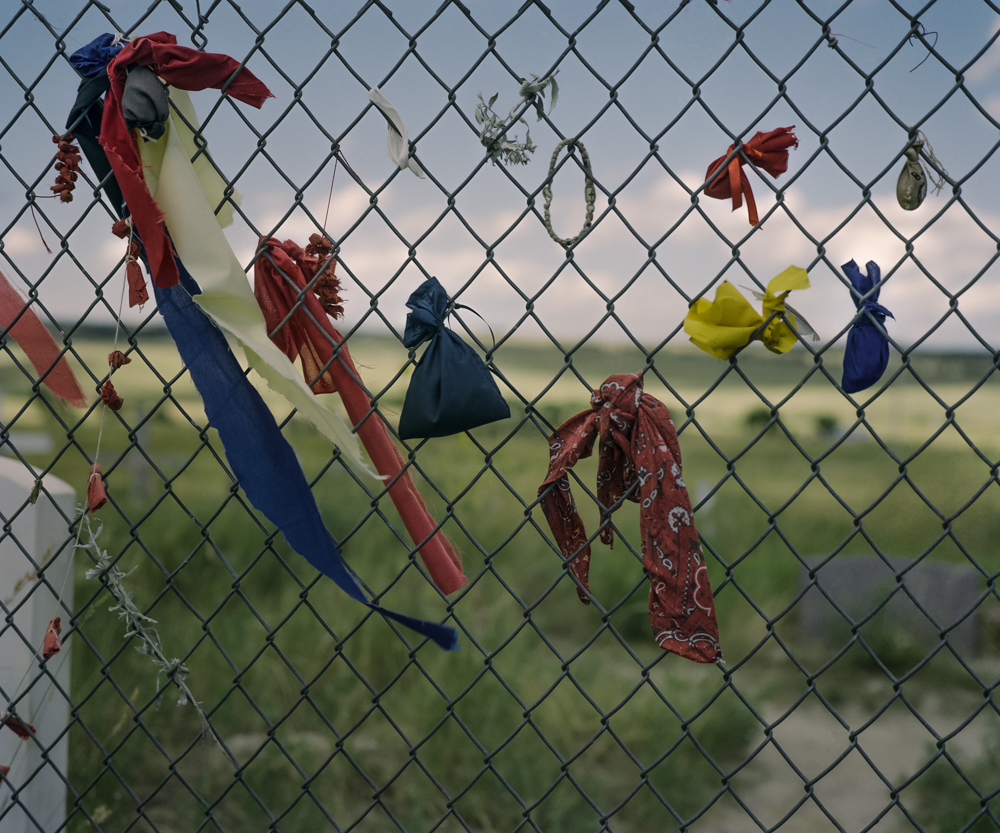Memorial, Wounded Knee, SD, 2009