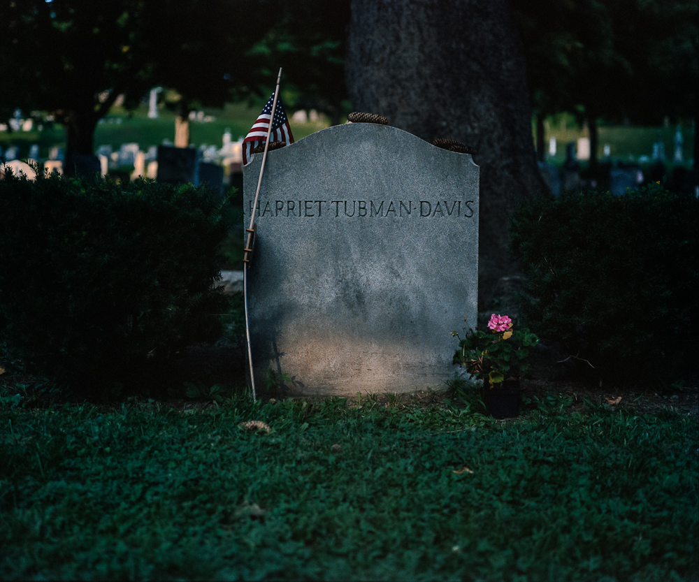 Harriet Tubman Gravestone, Auburn, NY, 2008