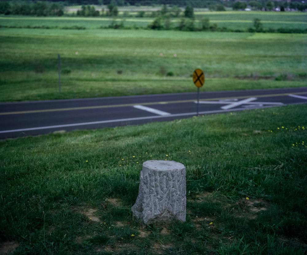 Concrete Stump, Gettysburg National Military Park, PA, 2008