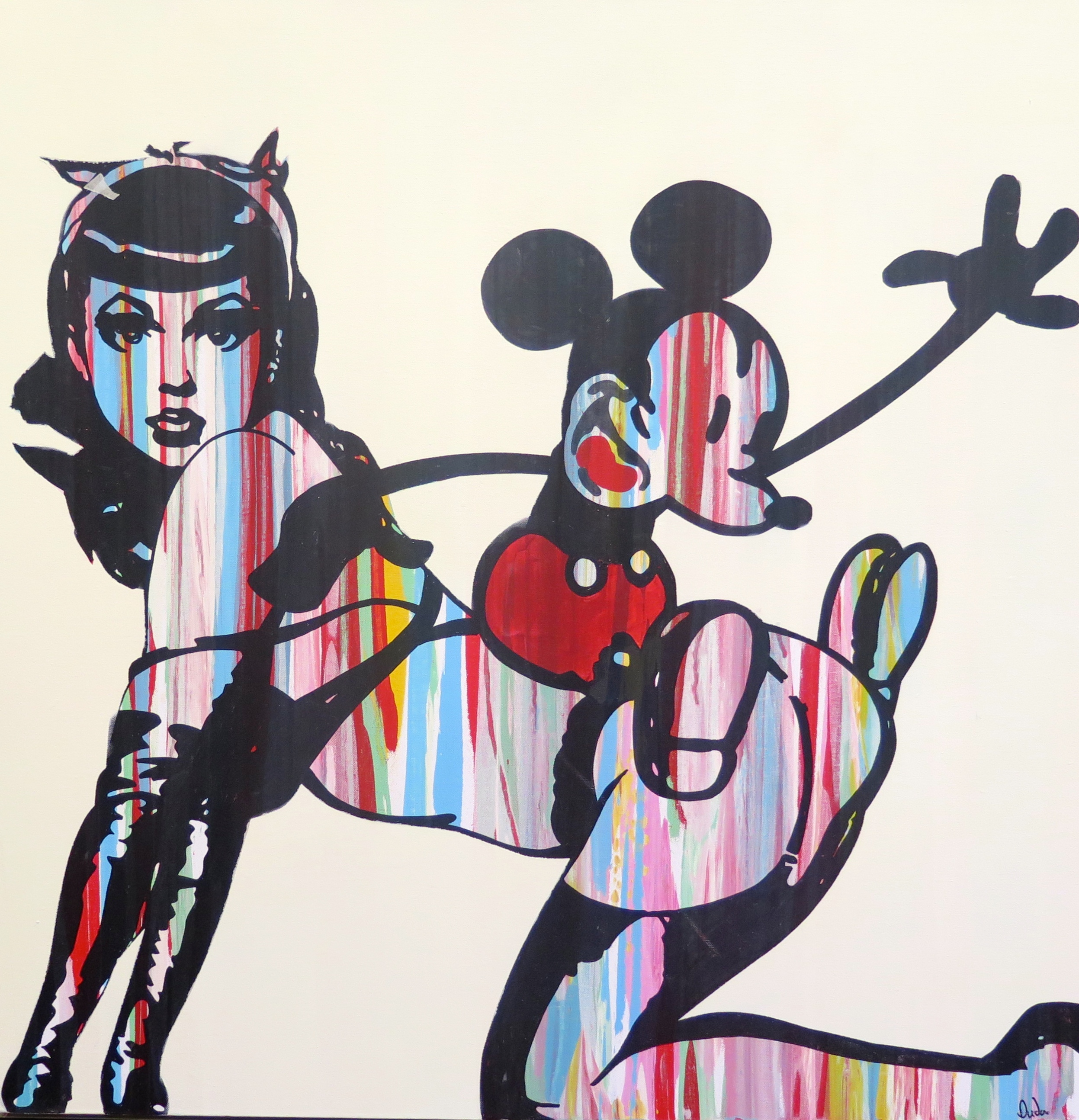 Mickey meets Betty by Duda €2500.JPG