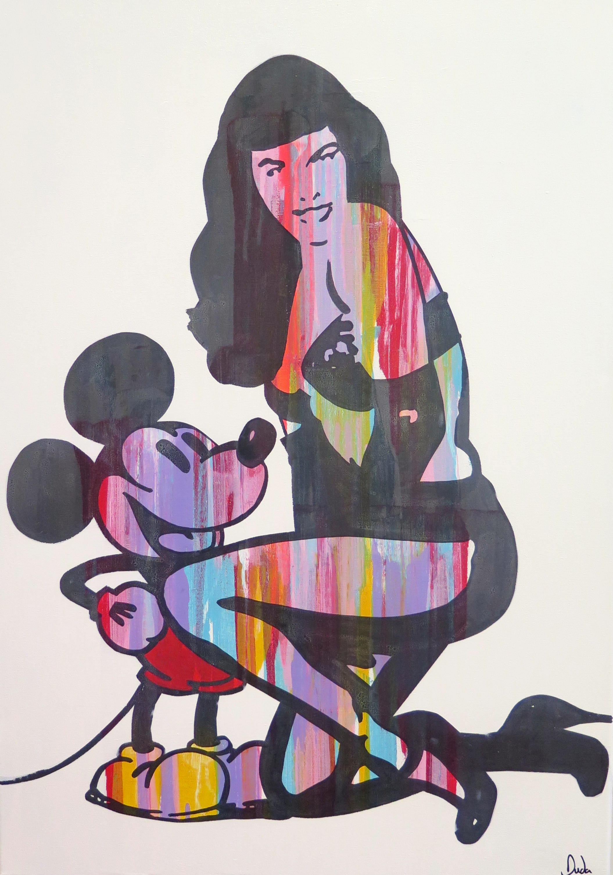 Mickey meets Betty II by Duda €1250.jpg
