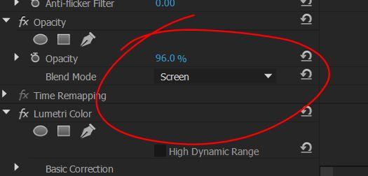 Premiere Pro Blend Mode