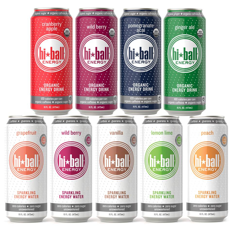 Hiball   Hiball is the pioneer of  energy  drinks for the health-conscious consumer: premium, refreshing Sparkling  Energy  Waters and Organic Sparkling  Energy  Drinks