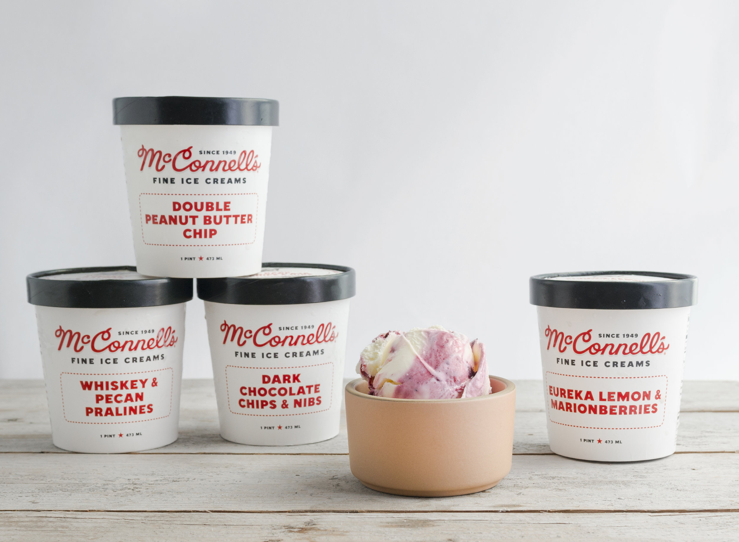McConnell's Ice Cream   Premium ice cream made from scratch using the best local, fresh, and sustainable ingredients.