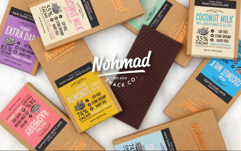 Simply delicious chocolate. Hand-poured goodness. The devil's in the details, and NOHMAD is devilishly delicious because we are obsessed with refining our process, seeking out the best ingredients, and making formulations that titillate your taste buds while still feeding your body what it needs. It's truly a win-win.