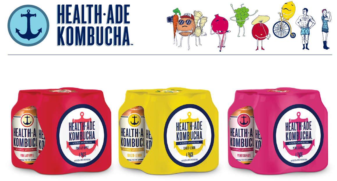 Health-Ade 4 pack -8oz