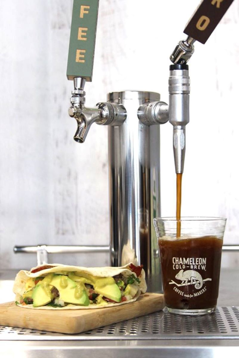 Chameleon Cold Brew   The best beans, the perfect grind, and a whole lotta love goes into our signature cold-brew. (Rest assured, all of our products are crafted with this much attention to detail.)