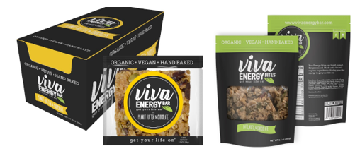 Viva Energy    Our Mission Is Simple   We're committed to providing you with healthy and lasting energy that's also delicious!  VIVA ENERGY BARS are made with simple ingredients that are both organic and recognizable. Always hand-baked, always in small batches, and a healthy alternative to processed protein or energy bars. Taste ingredients as they should taste.  Snack hard, feel great, and get back to fueling your passions. Get Your Life On!