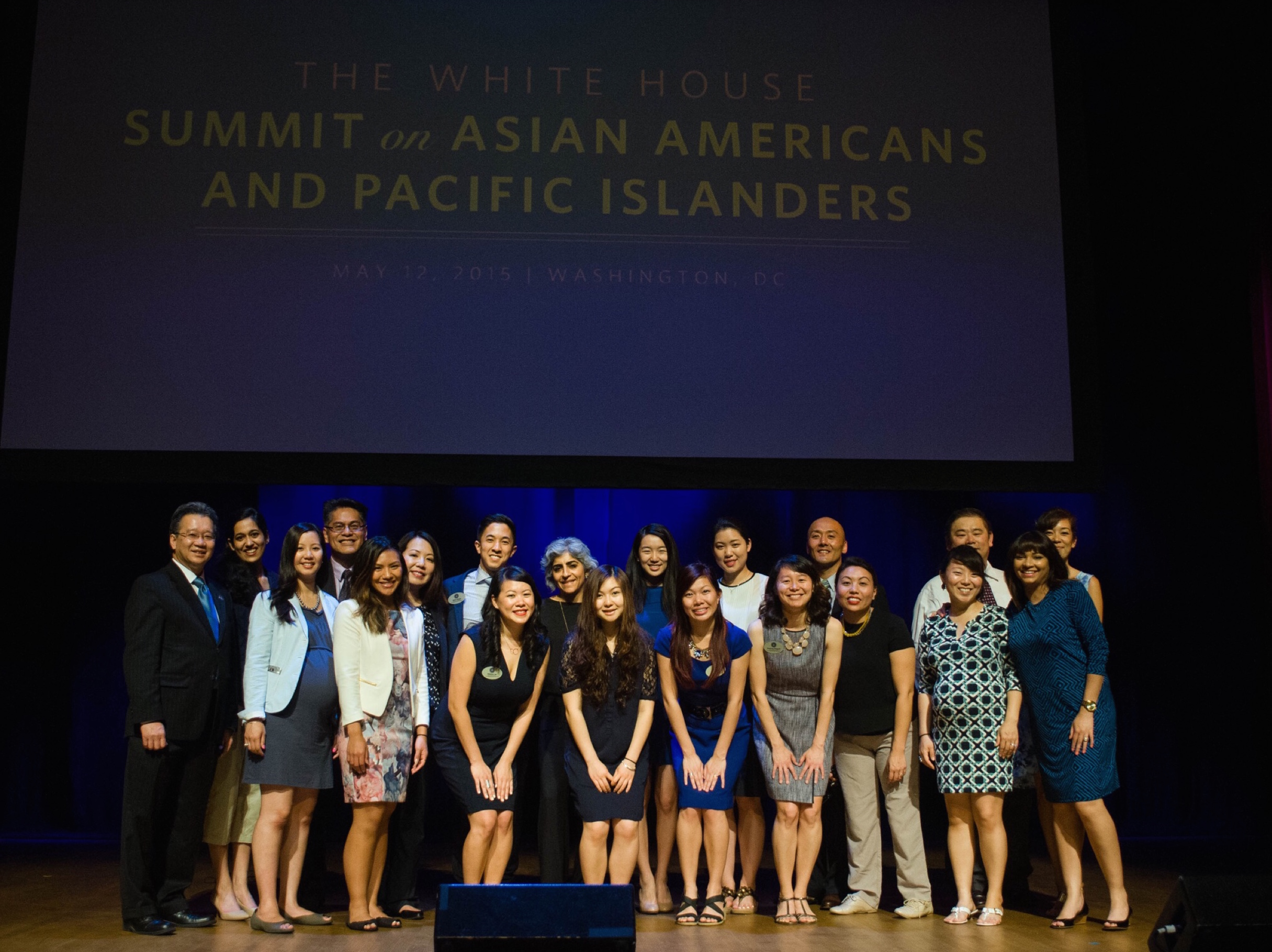 The WHIAAPI Team on Summit Day.