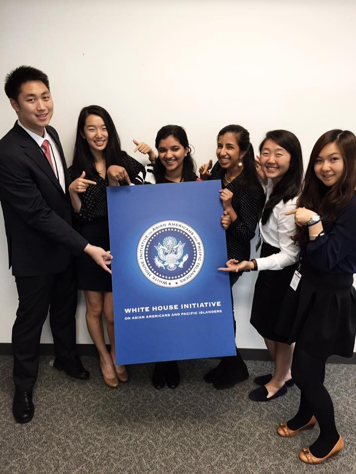 The White House Initiative Spring/Summer 2015 interns and I on my last day.