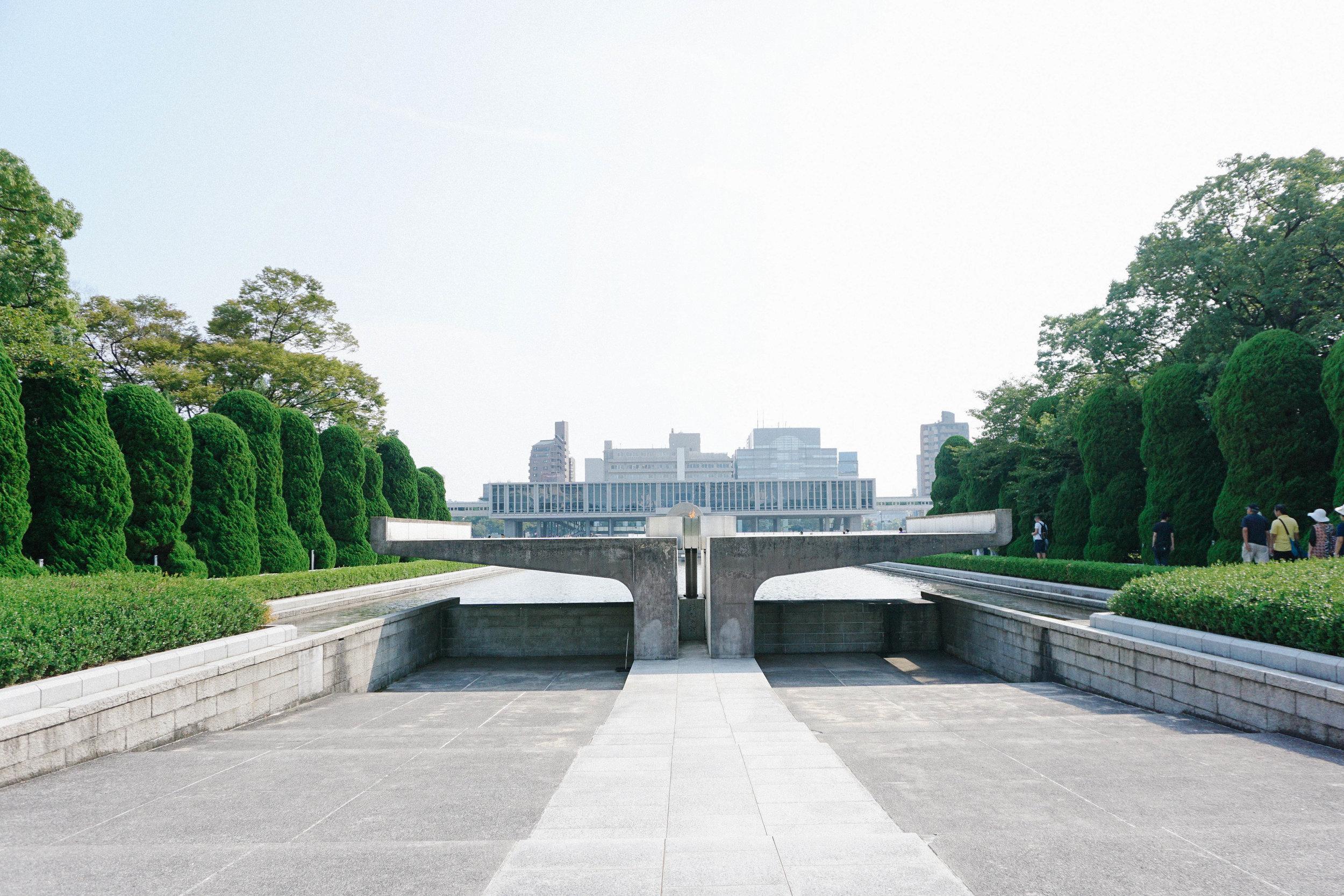 Flame of Peace, Hiroshima Peace Memorial Park.
