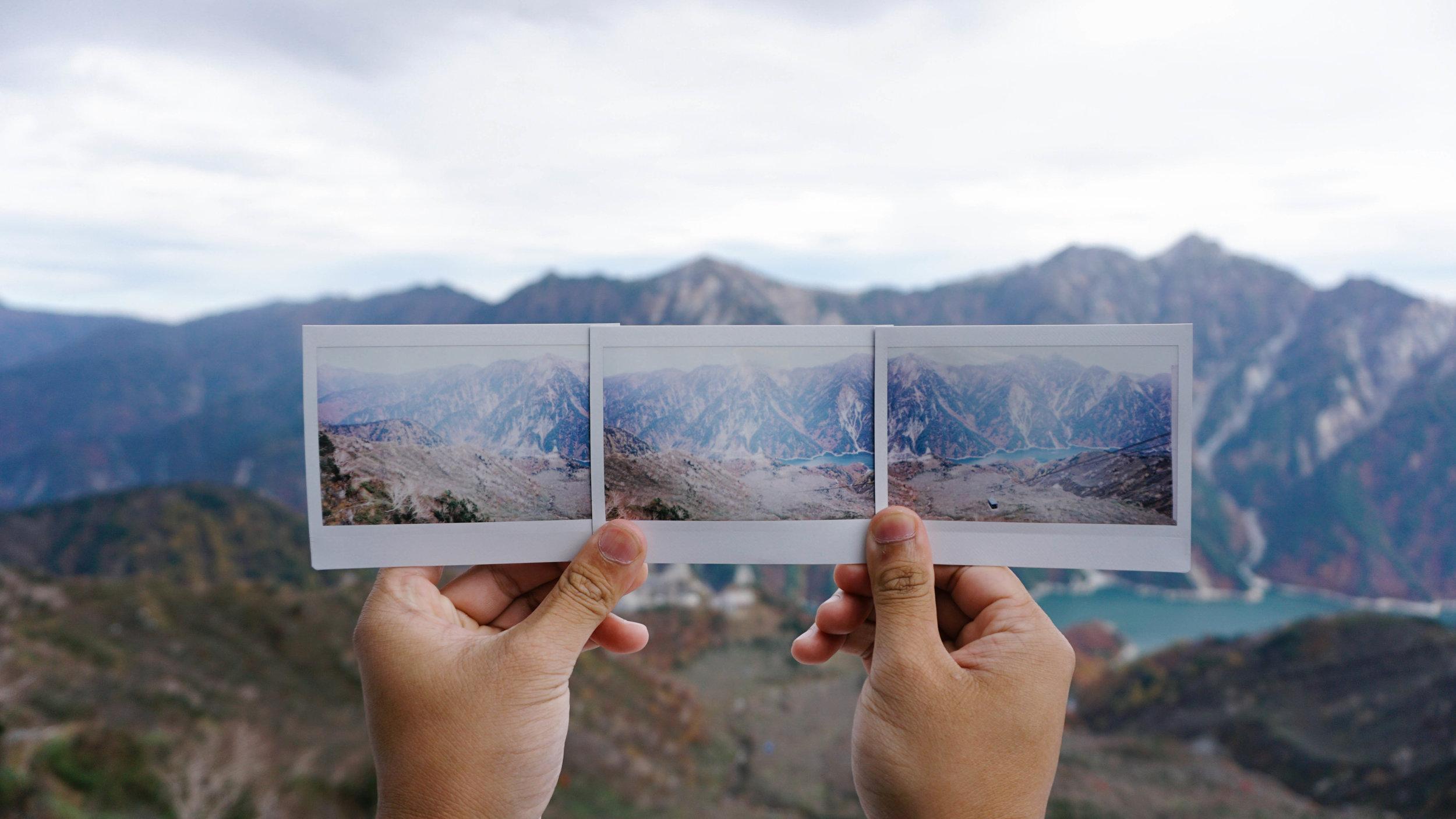 Panorama, Polaroid style!