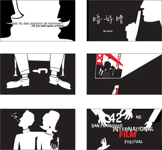 Stills from the animated trailer. In collaboration with Wild Brain Animation.