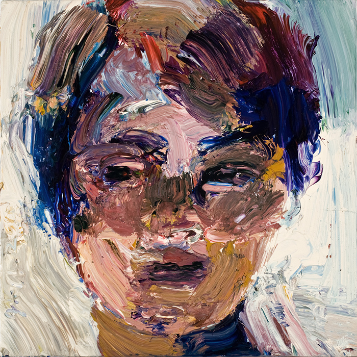 Lin Fischer | Sideways Glance | Acrylic on Canvas
