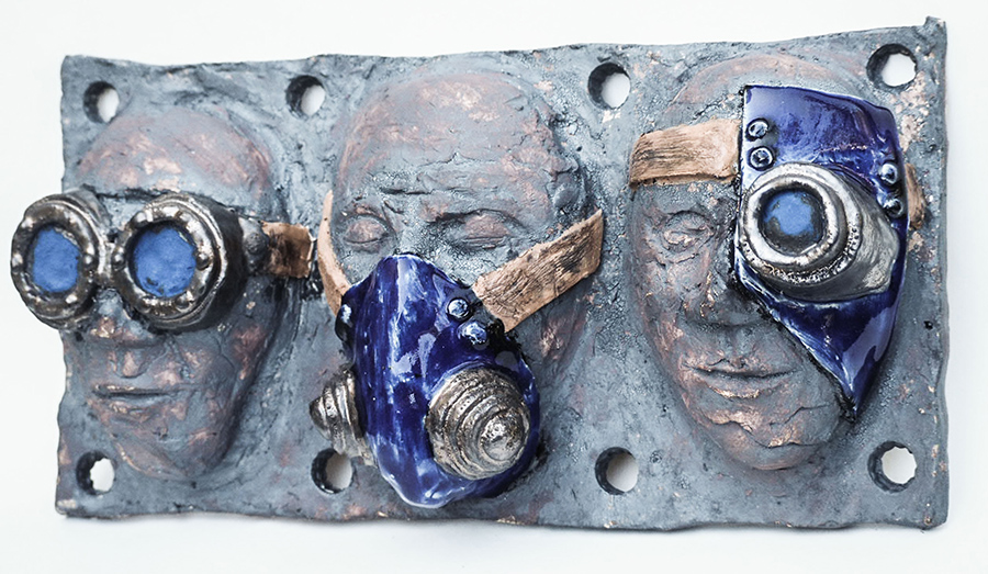 David Trousdale | Waiting for Armageddon | Ceramic Sculpture