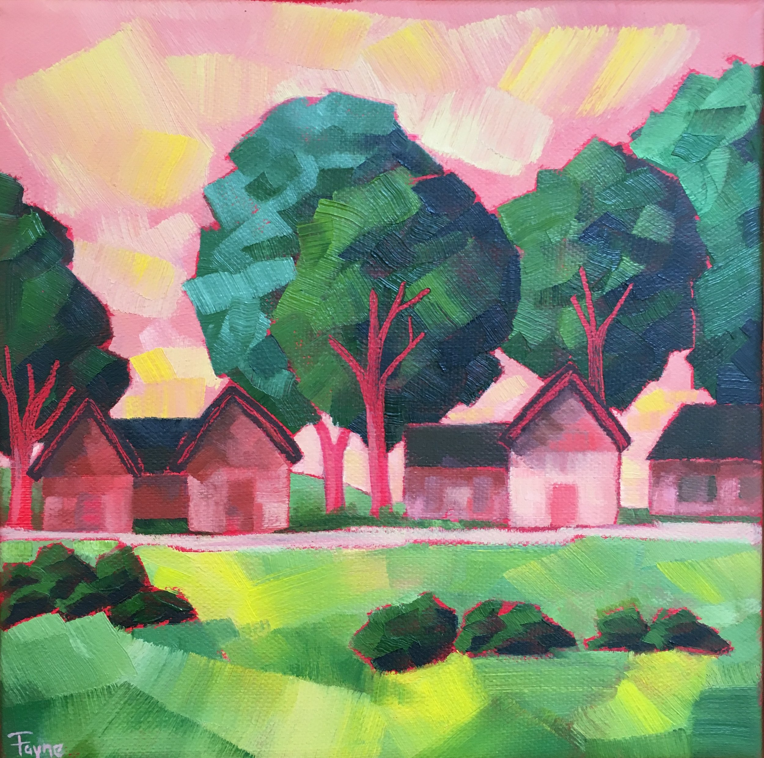 HONORABLE MENTION  - Fayne Muldoon | Summer Retreat | Oil on Canvas