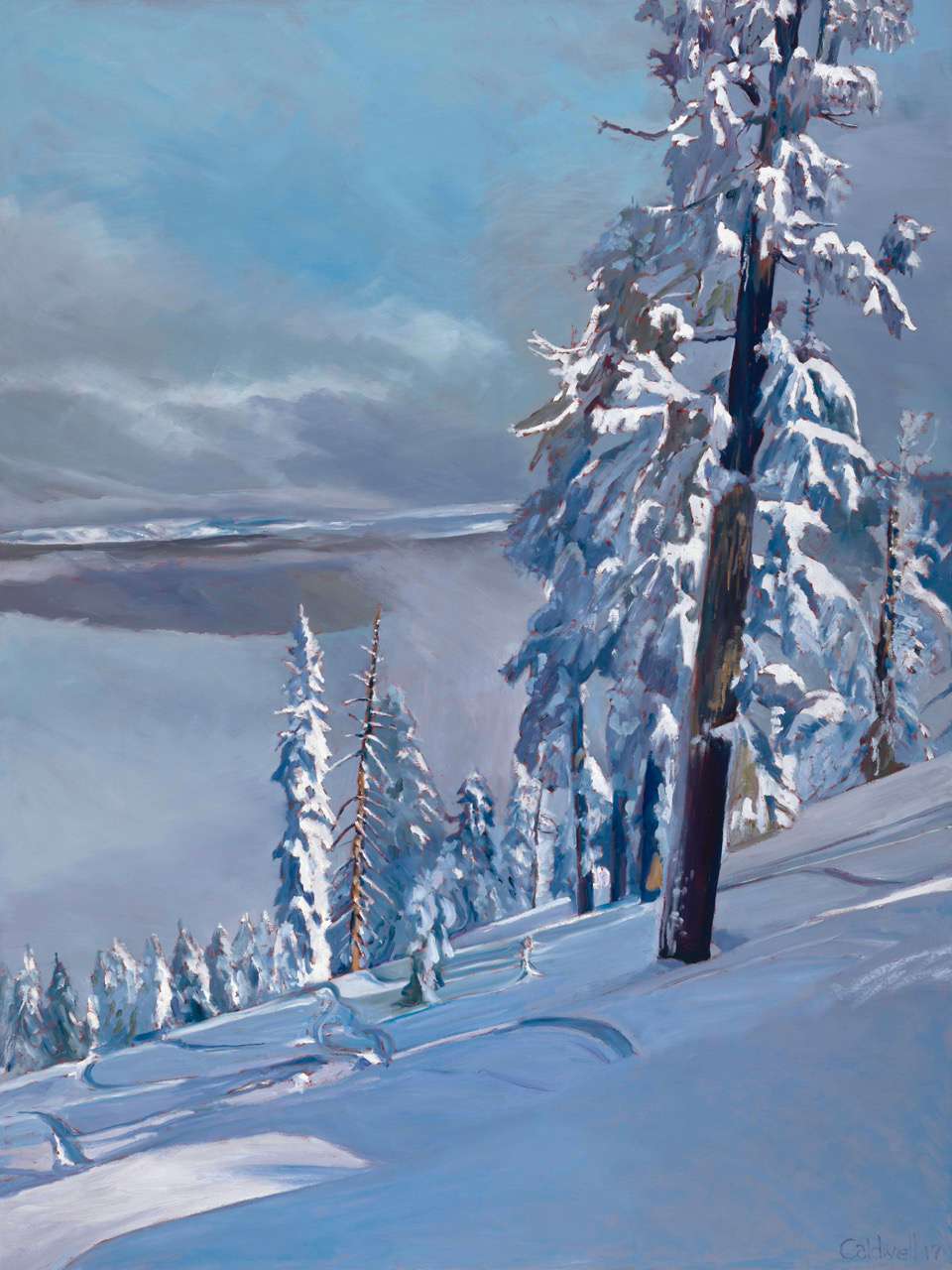 "HONORABLE MENTION  - Jim Caldwell | ""Over Martis Valley"" 