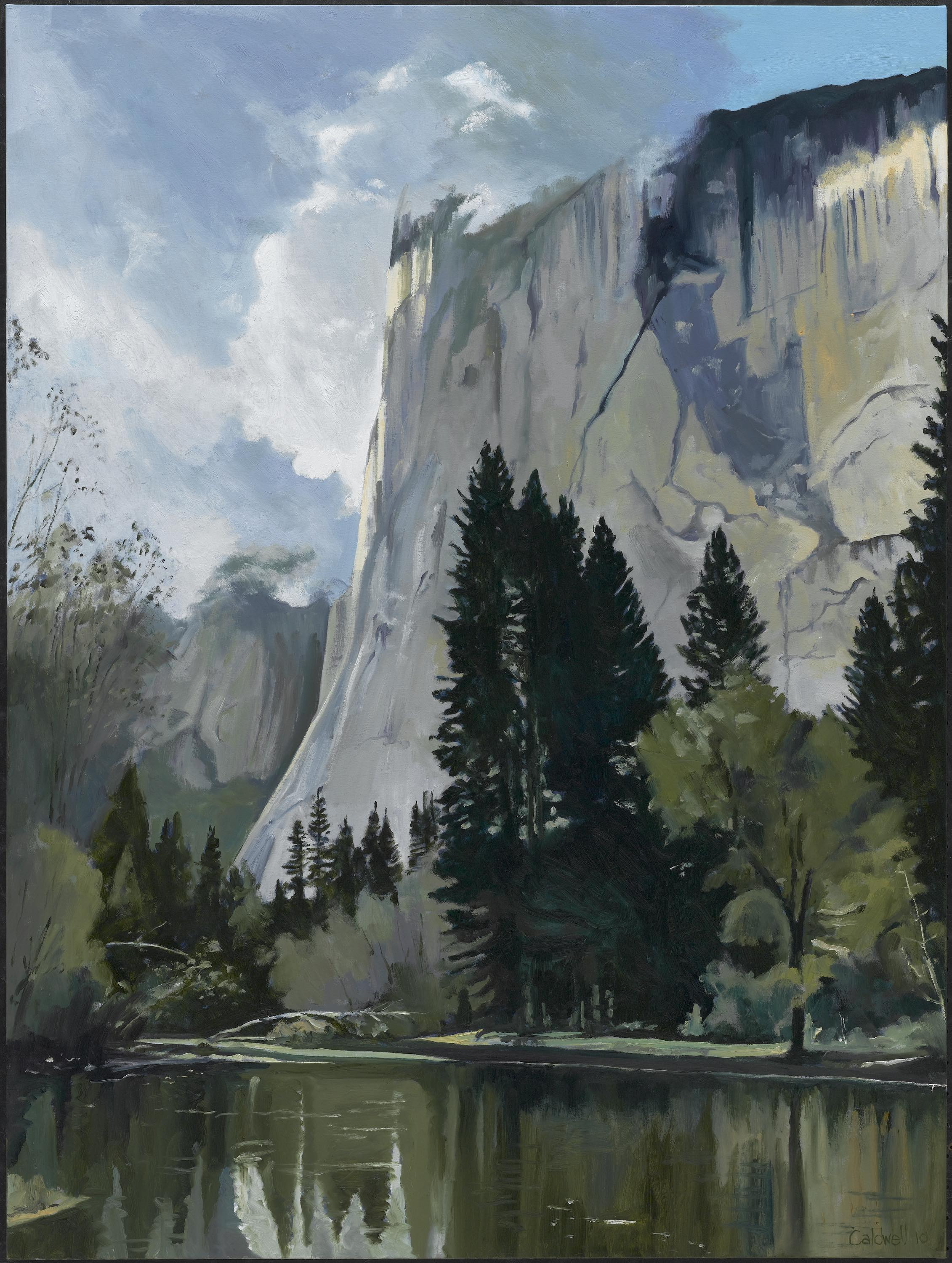 "HONORABLE MENTION  - Jim Caldwell | ""El Capitan Fall"" 
