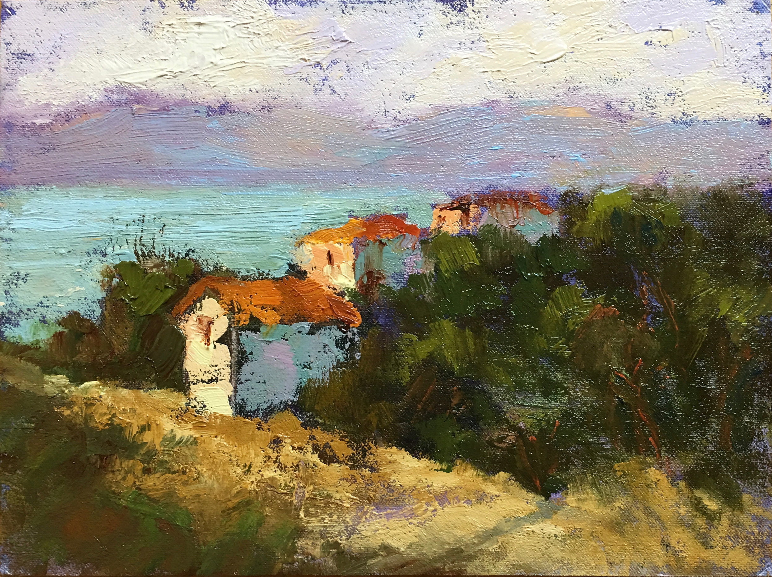 "HONORABLE MENTION  - Fiorenza Gorini | ""Morning at the lake Village"" 