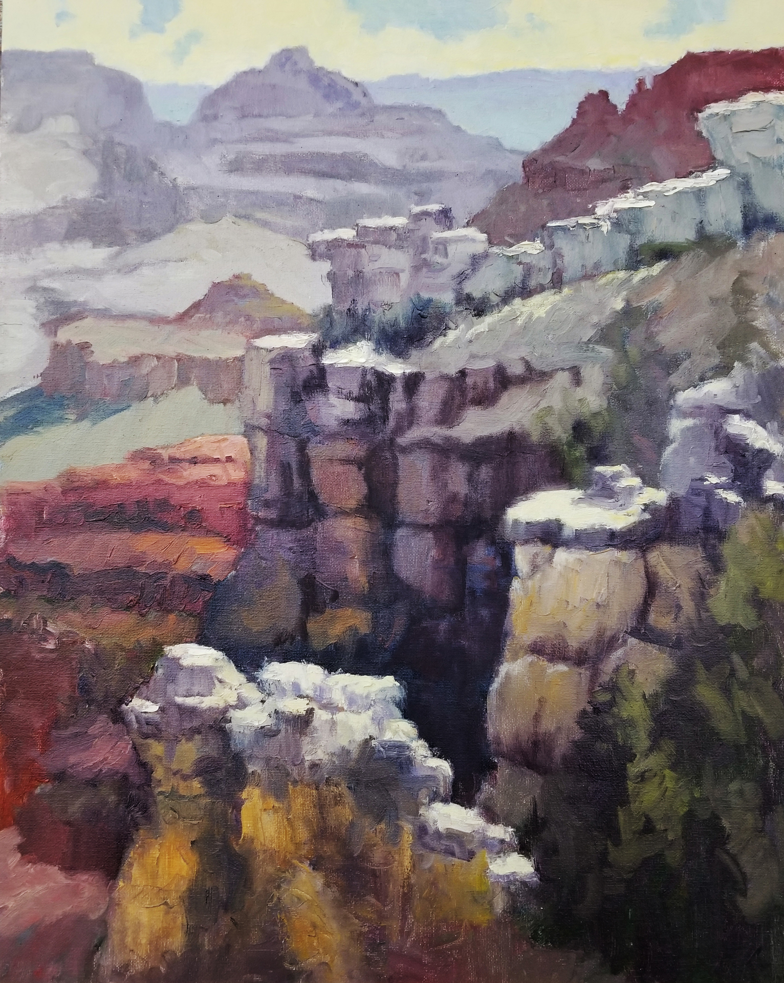 HONORABLE MENTION  - Mark Monsarrat | Grand Canyon Cliffs