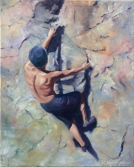 Copy of HM - Melissa Mandegarian | Climber