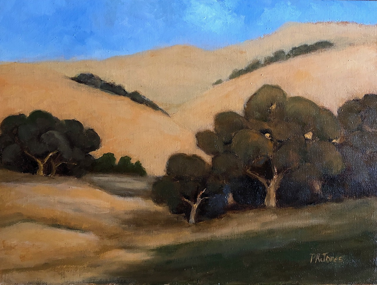 "Copy of Honorable Mention: Patricia Jones, ""Golden Hills"""
