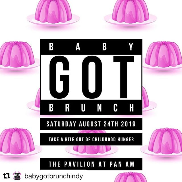 We're teaming up with @babygotbrunchindy @thepatachoufoundation again this year to fight food insecurity for school children as a cosponsor. They are giving away free tickets, so if you are in Indy, head over to their IG and get 'em!