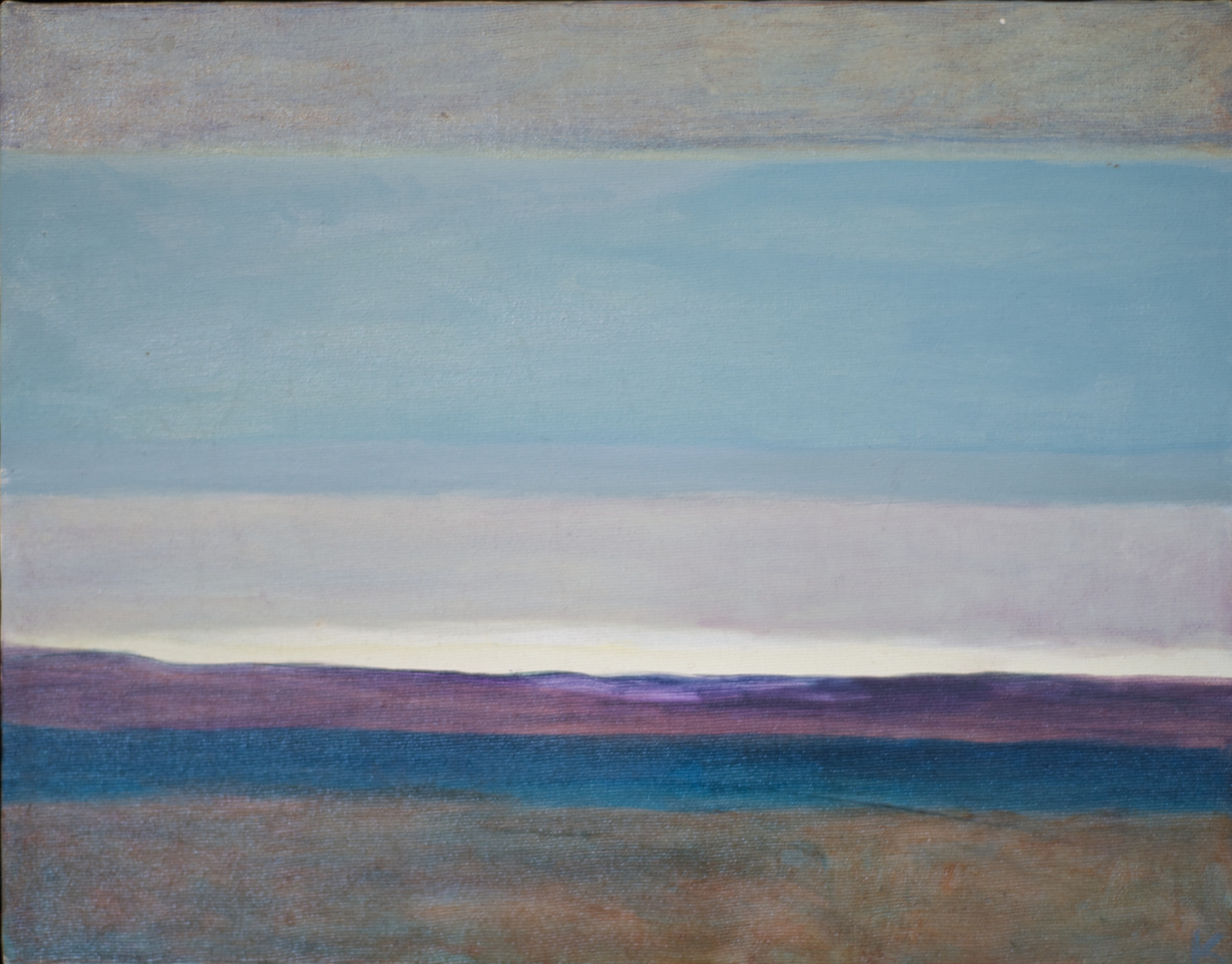 Horizons #3  oil on canvas 12in x 14in