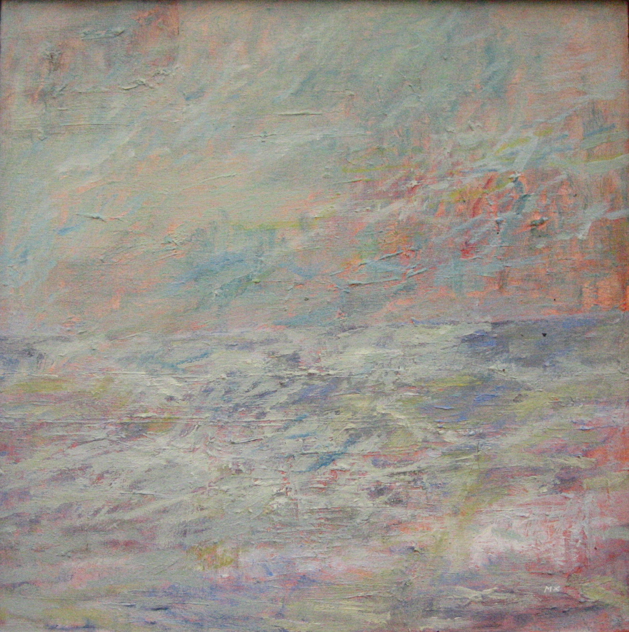 Seascape #4  oil on canvas 24in x 24in