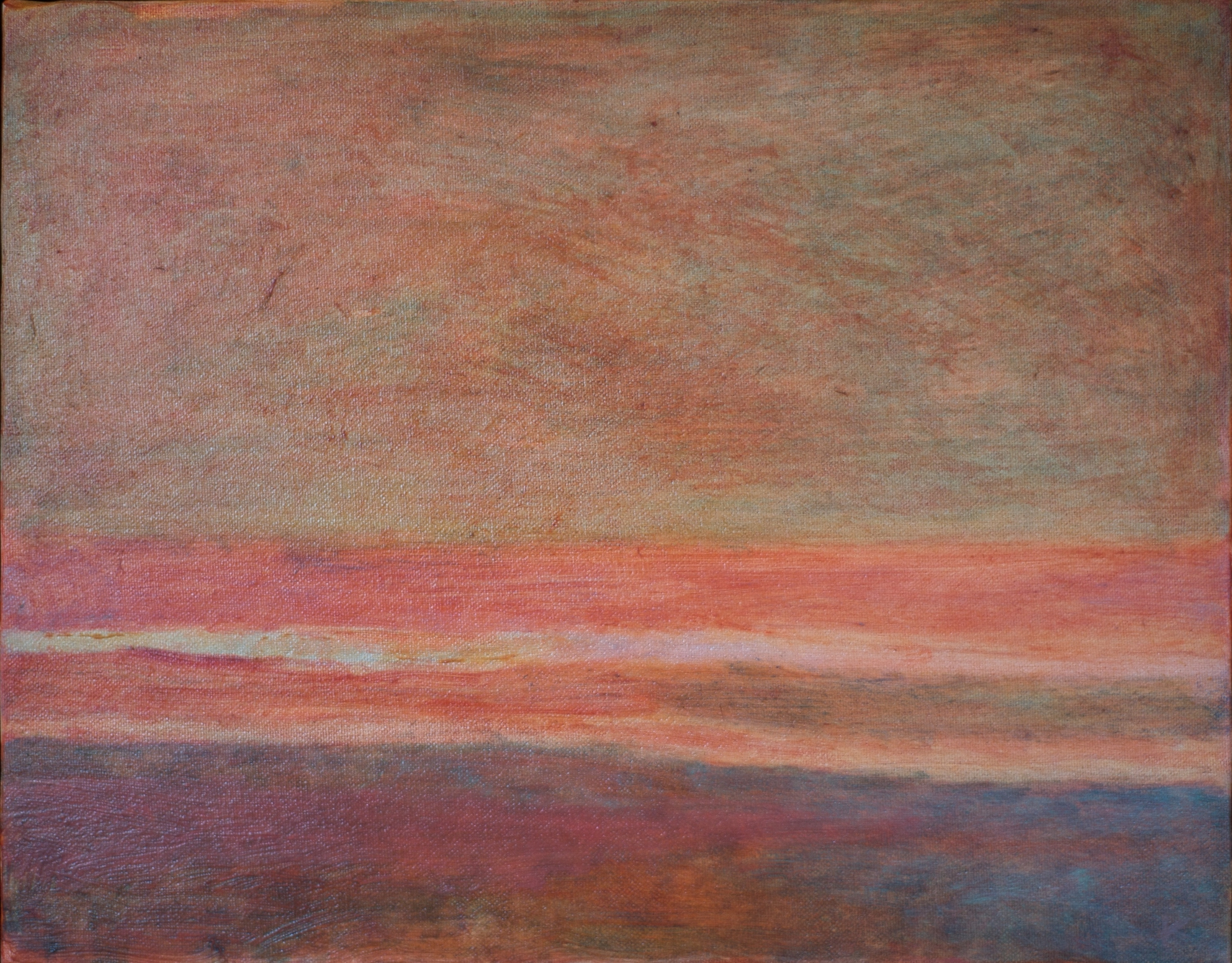 Horizons #2  oil on canvas 12in x 14in
