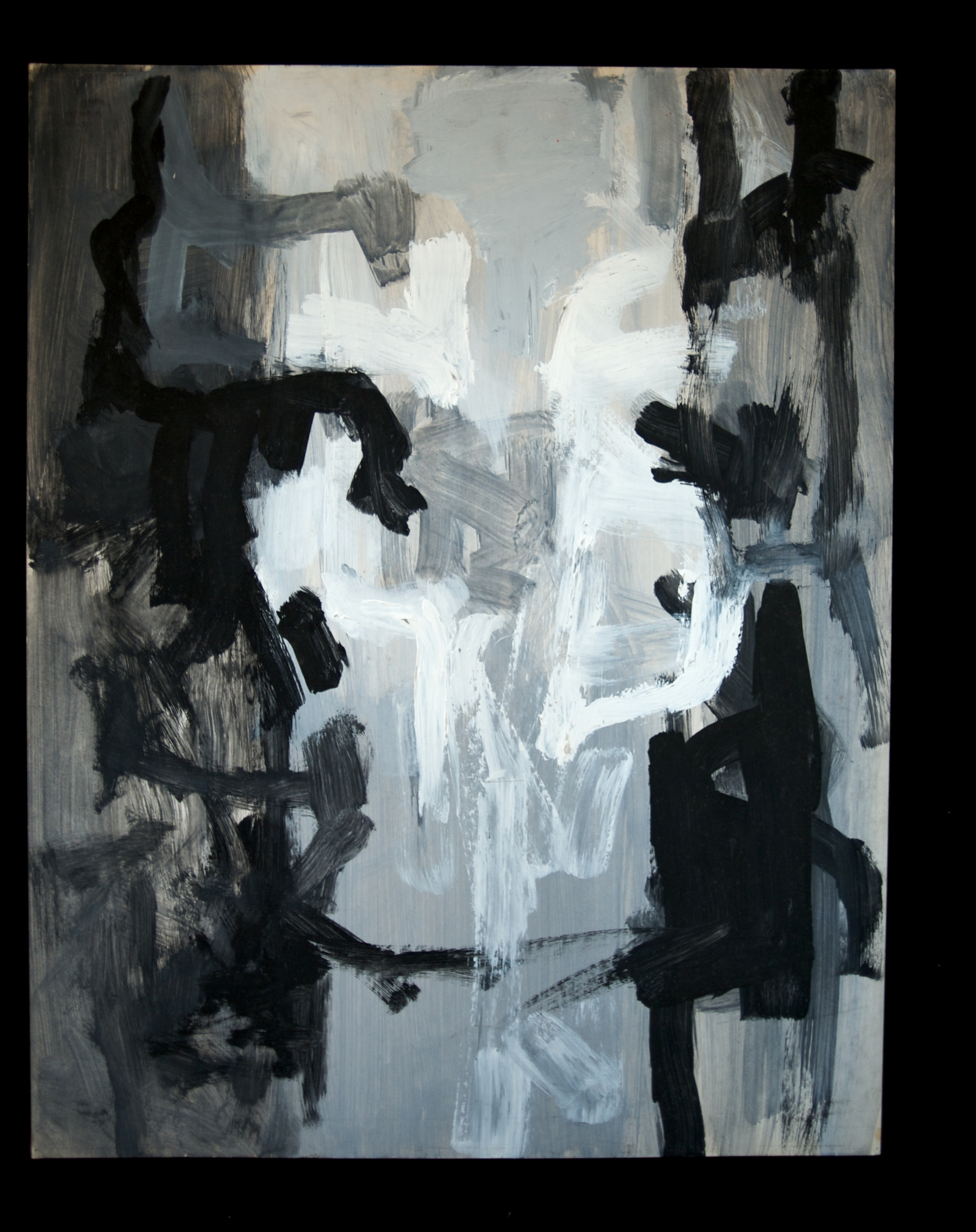 In- Between guache on paper 22in x 28in