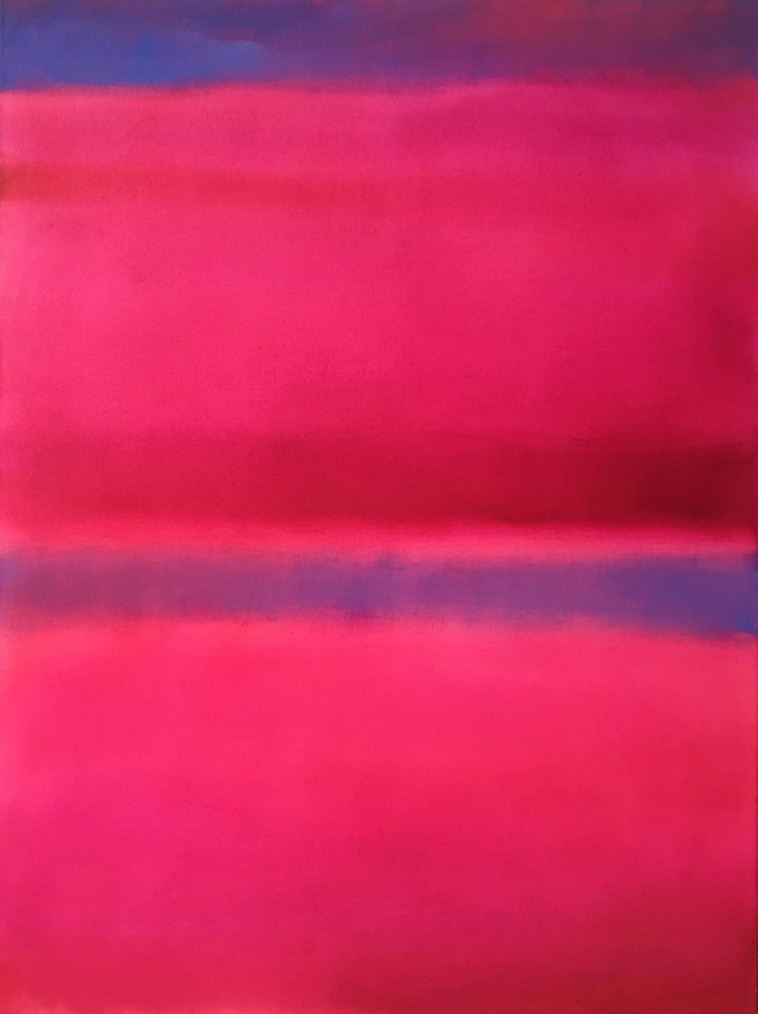 """Open Horizontal XXXVIII  oil on canvas 48""""x 36"""" ( 122 x 91.5 cm ) 2018"""