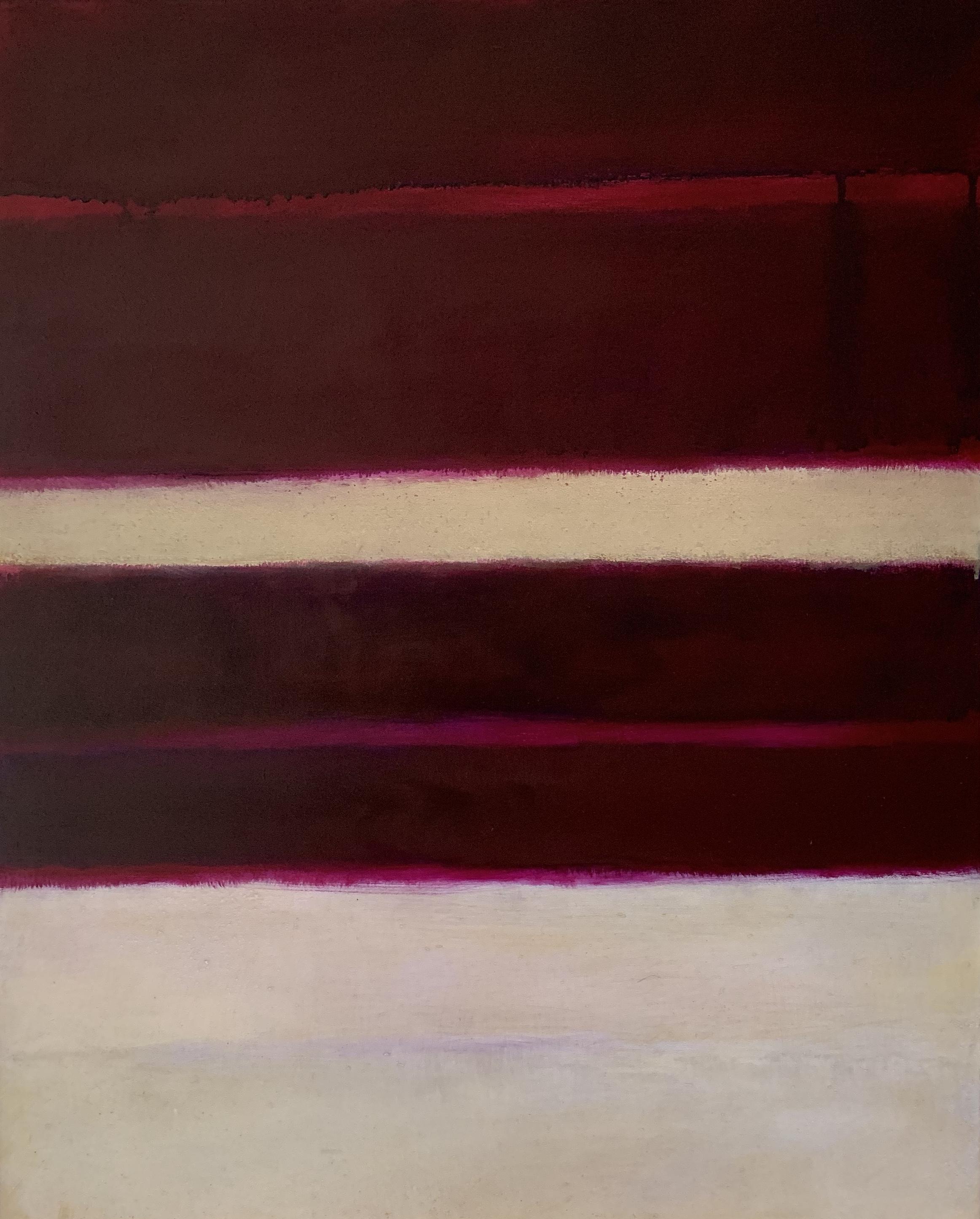 "Nocturne # XVI  oil on wood panel 20""x 16"" ( 51 x 41 cm ) 2018"