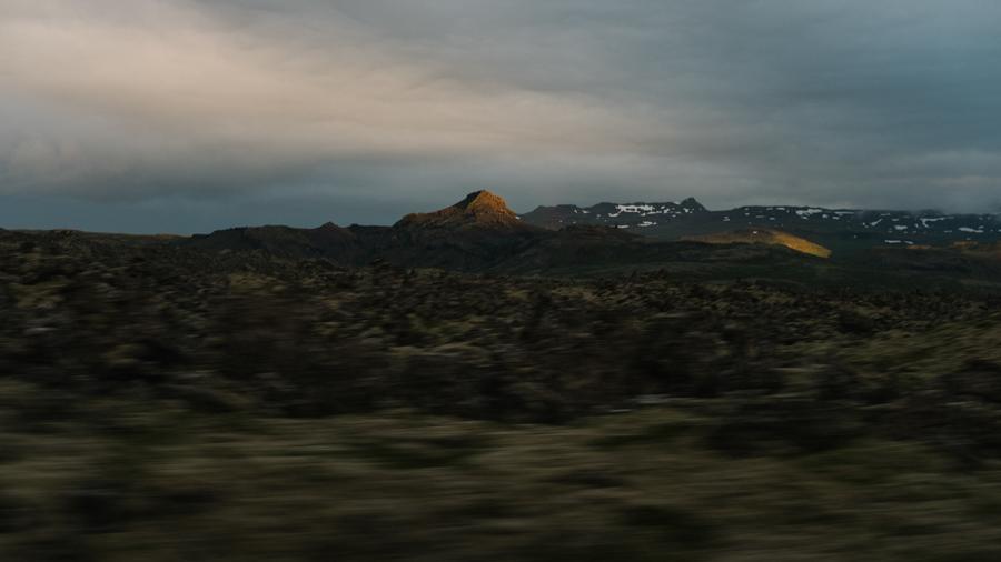 Landslag á ferð