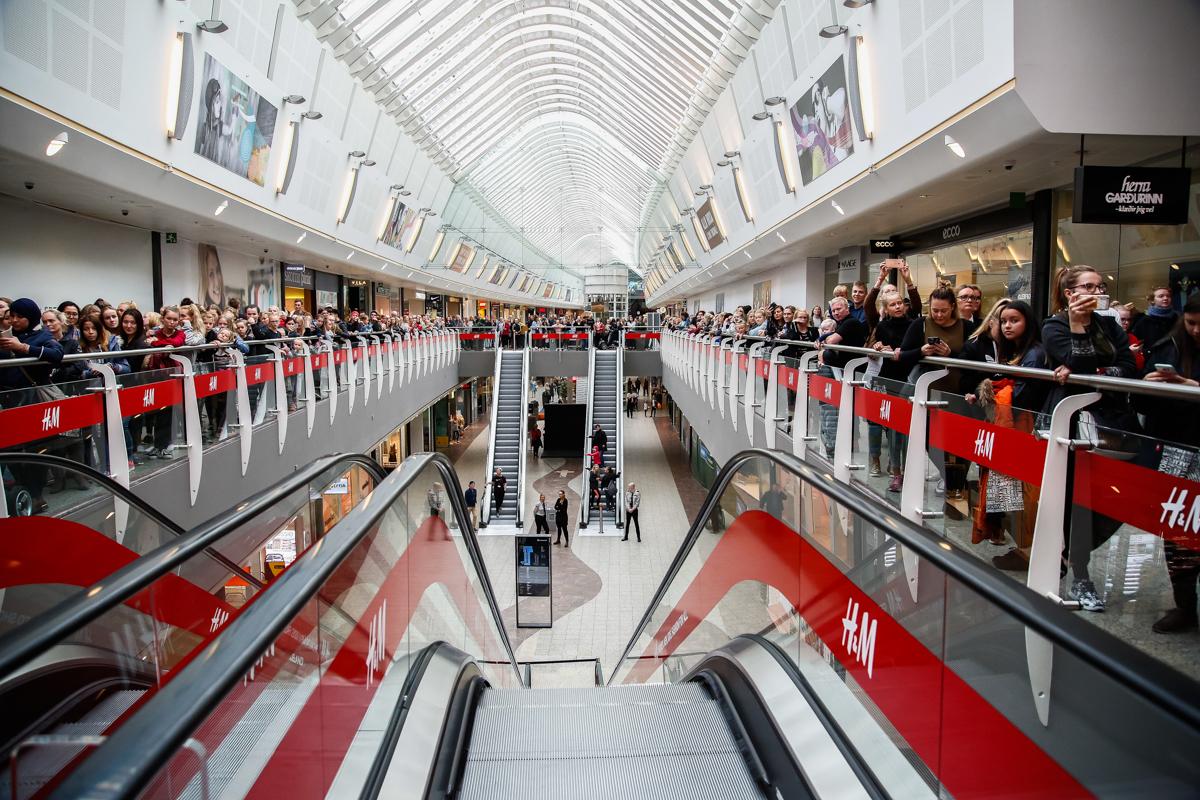 H&M opnar á Íslandi