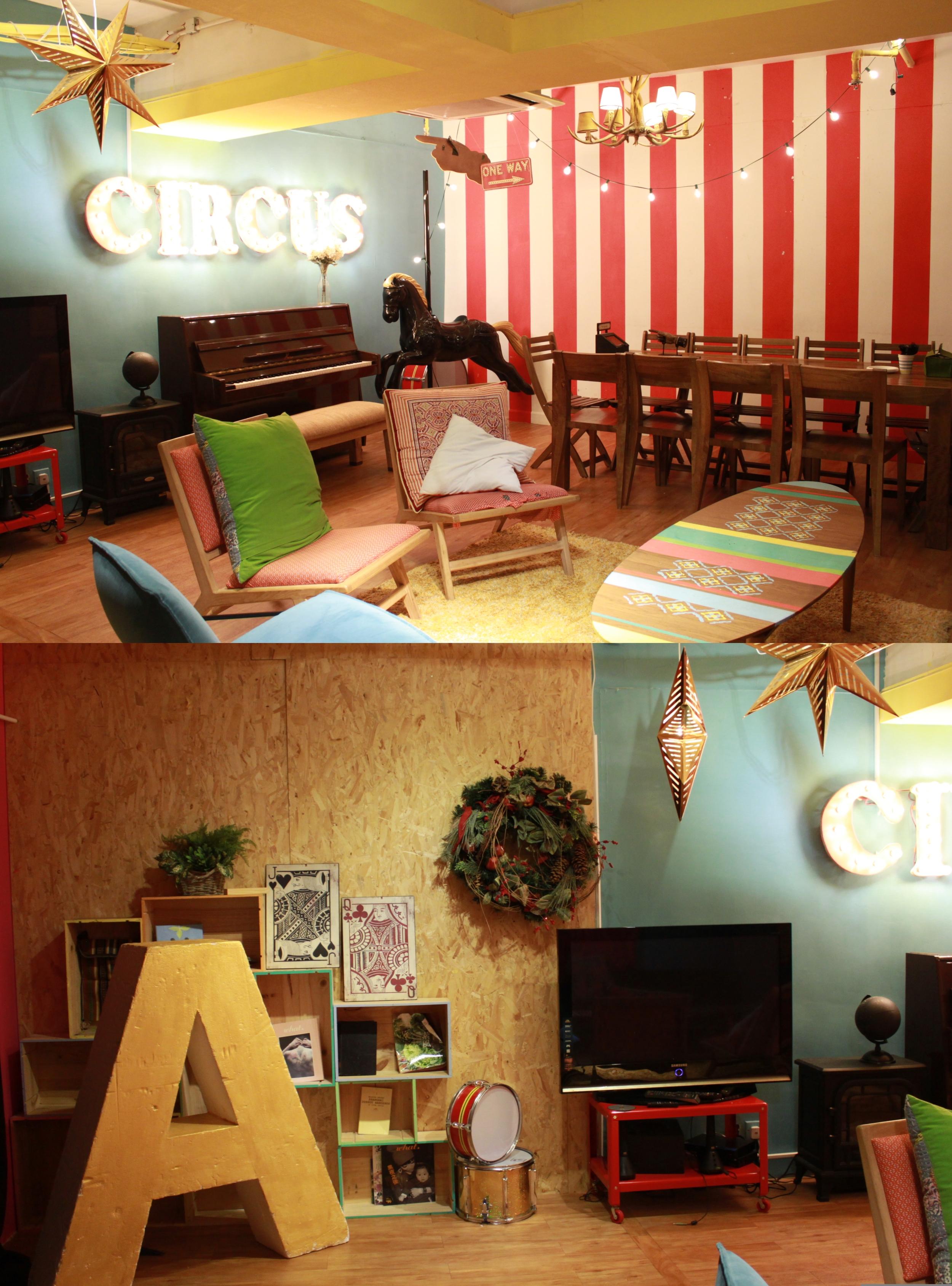 Venue: Hide n' Seek (Circus Room)