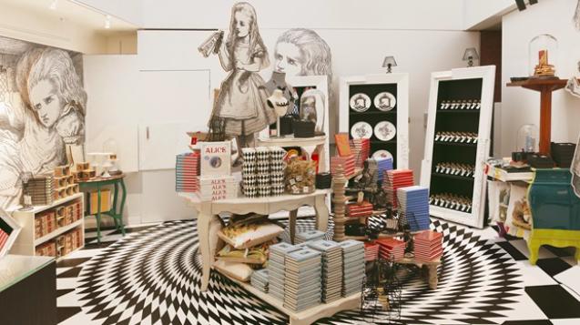 Image via Alice in Wonderland Exhibition website