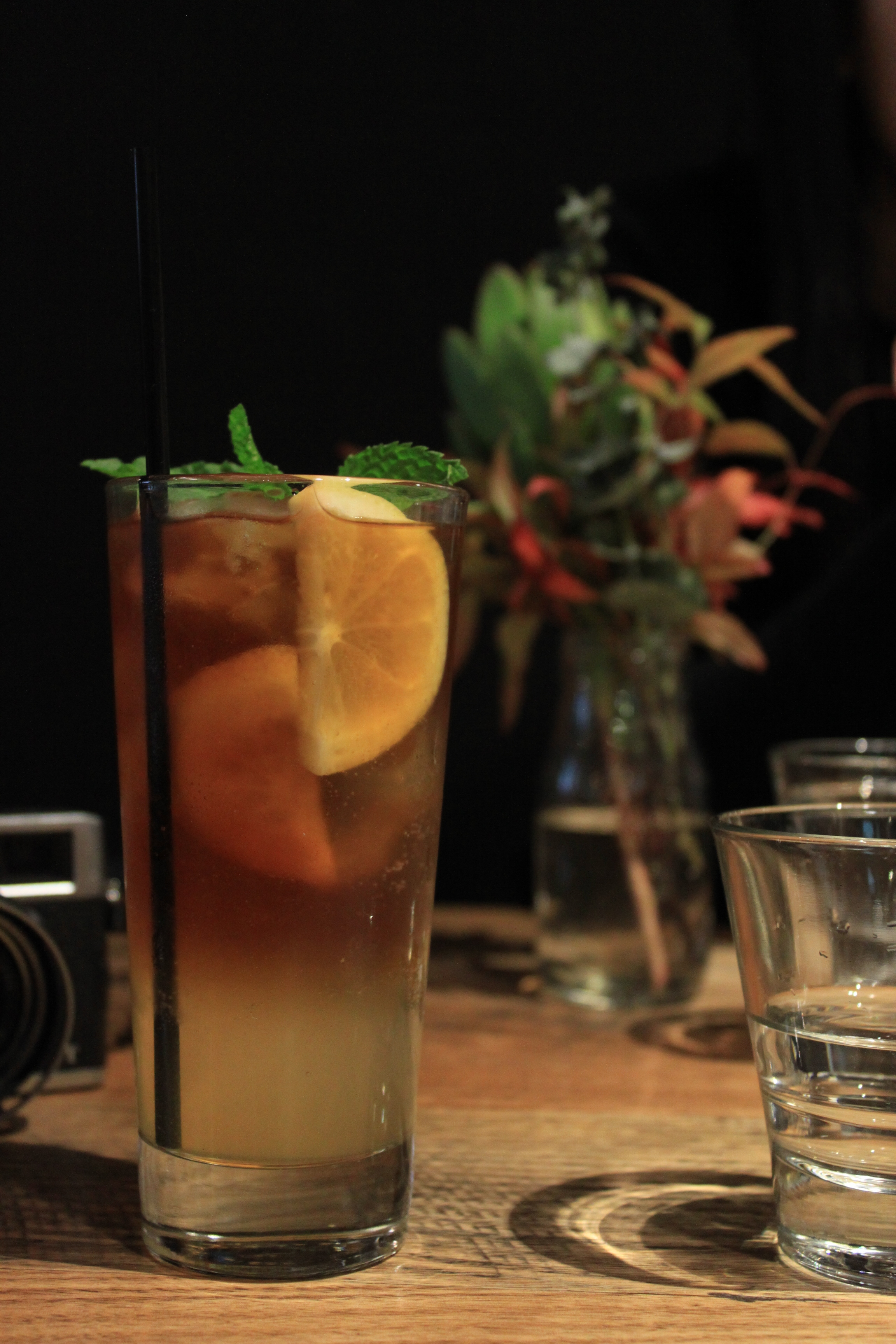 HASH BLACK MAGIC (MUST TRY!!) (COLD BREW COFFEE INFUSED WITH FRESH FRUIT SYRUP, TOPPED WITH SPARKLING WATER)