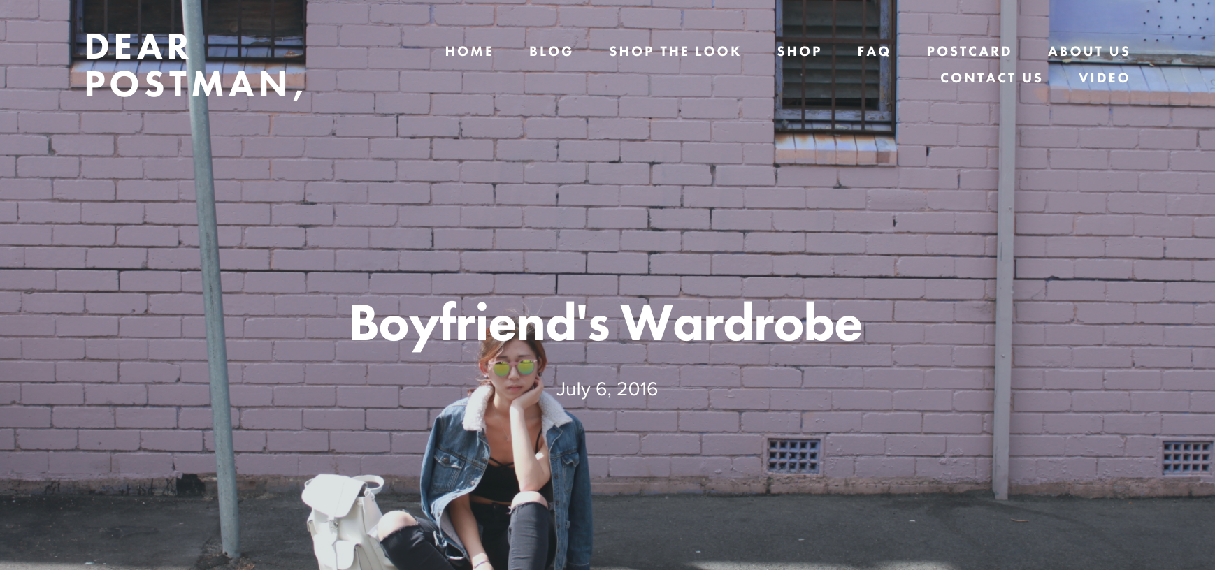 Boyfriend's Wardrobe
