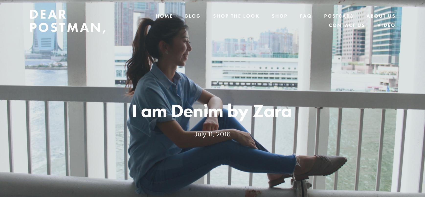 I am Denim by Zara