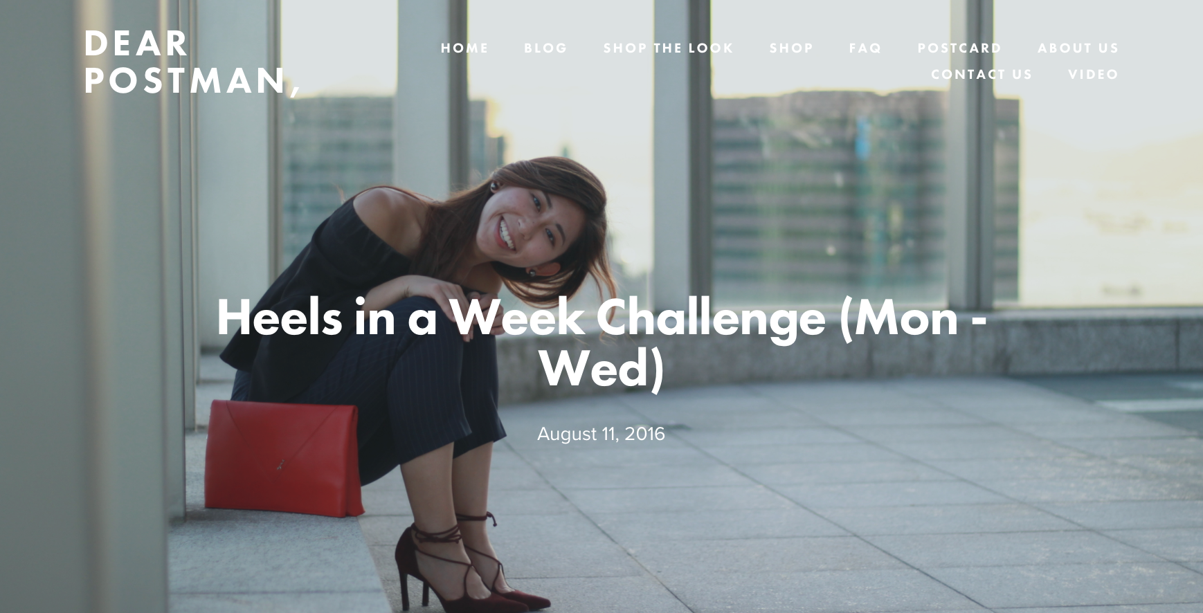 Heels in a Week Challenge (Mon - Wed)