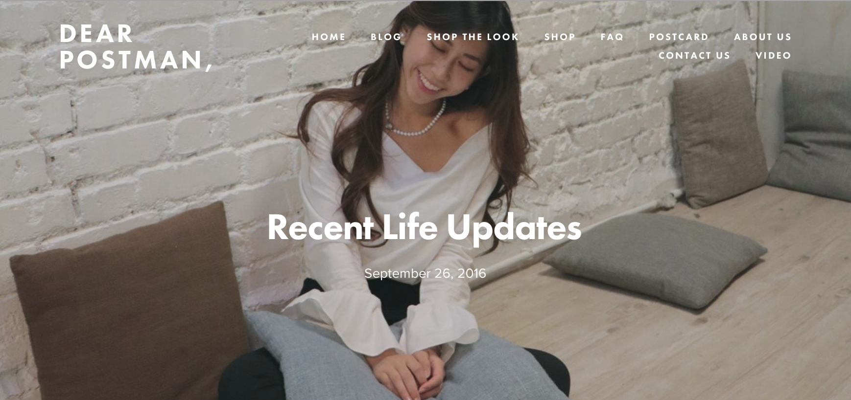 Recent Life Updates