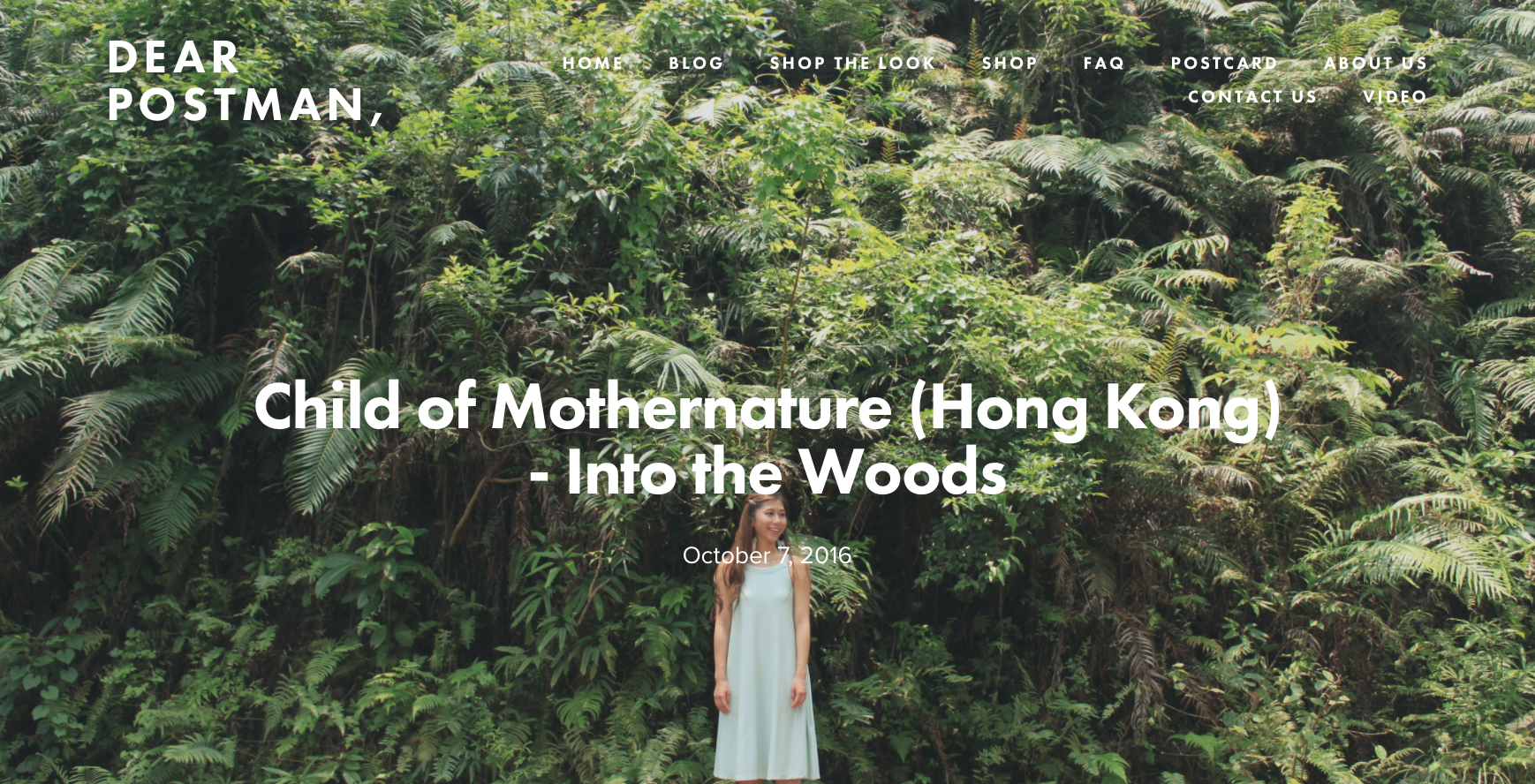 Child of Mothernature (Hong Kong) - Into the Woods