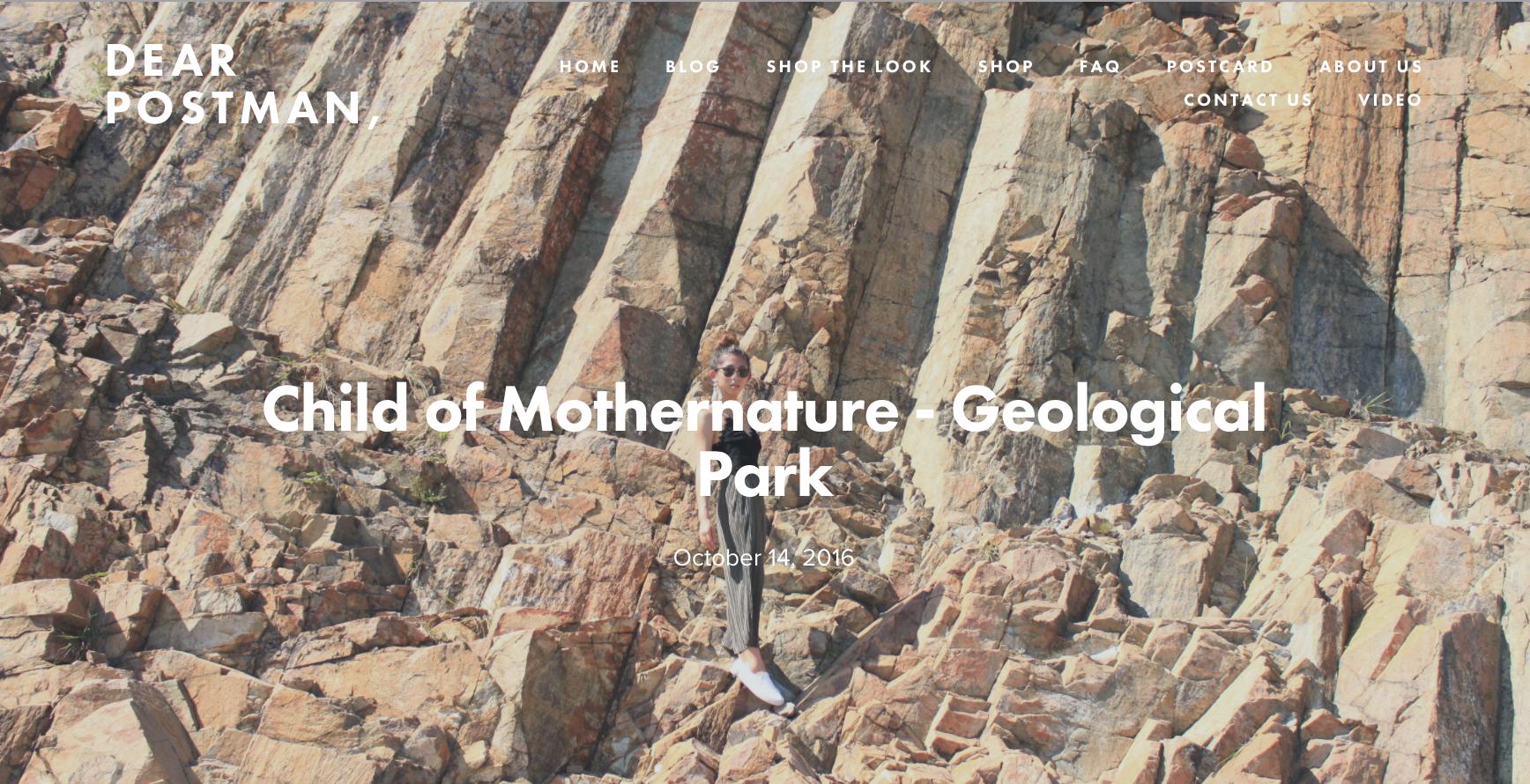 Child of Mothernature - Geological Park