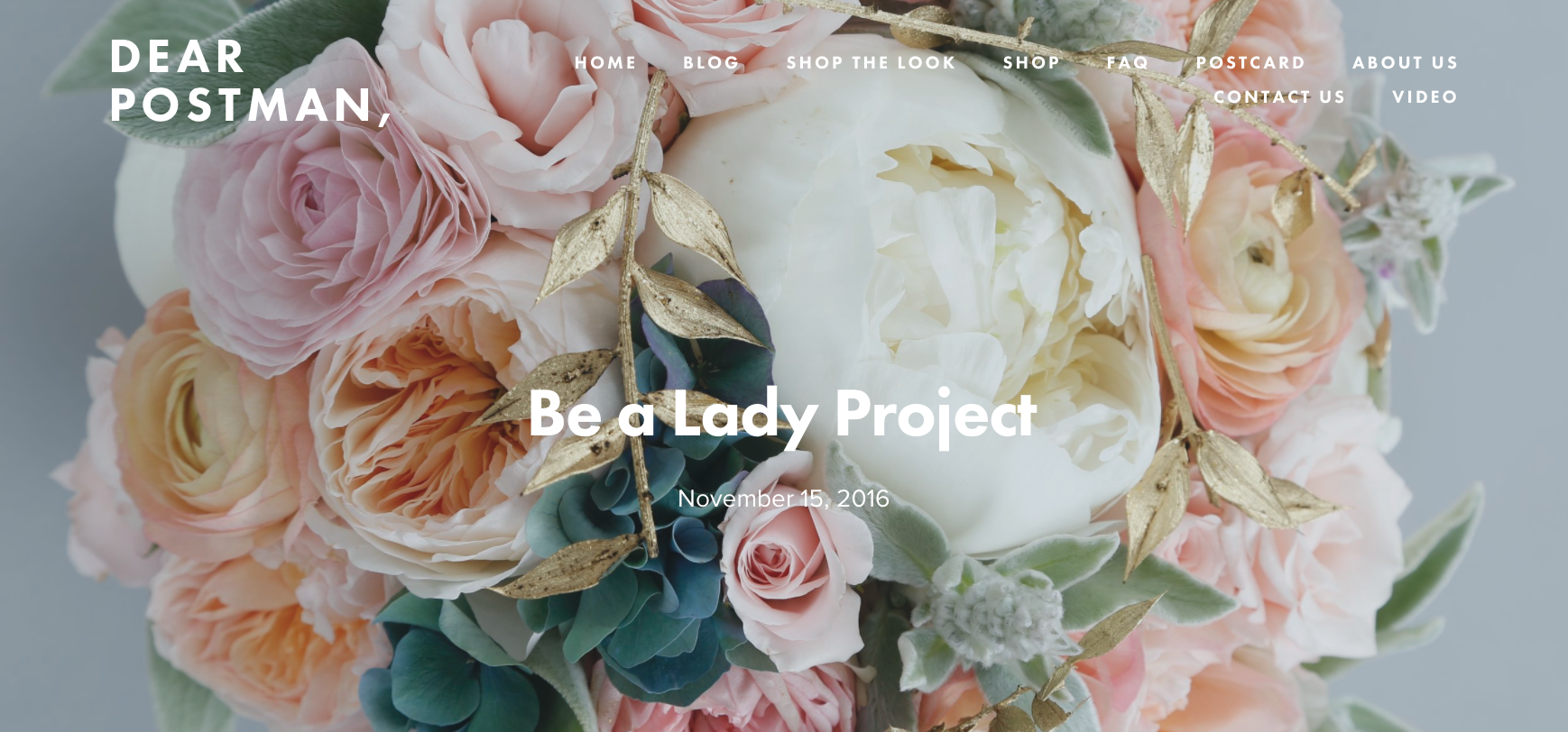 Be a Lady Project