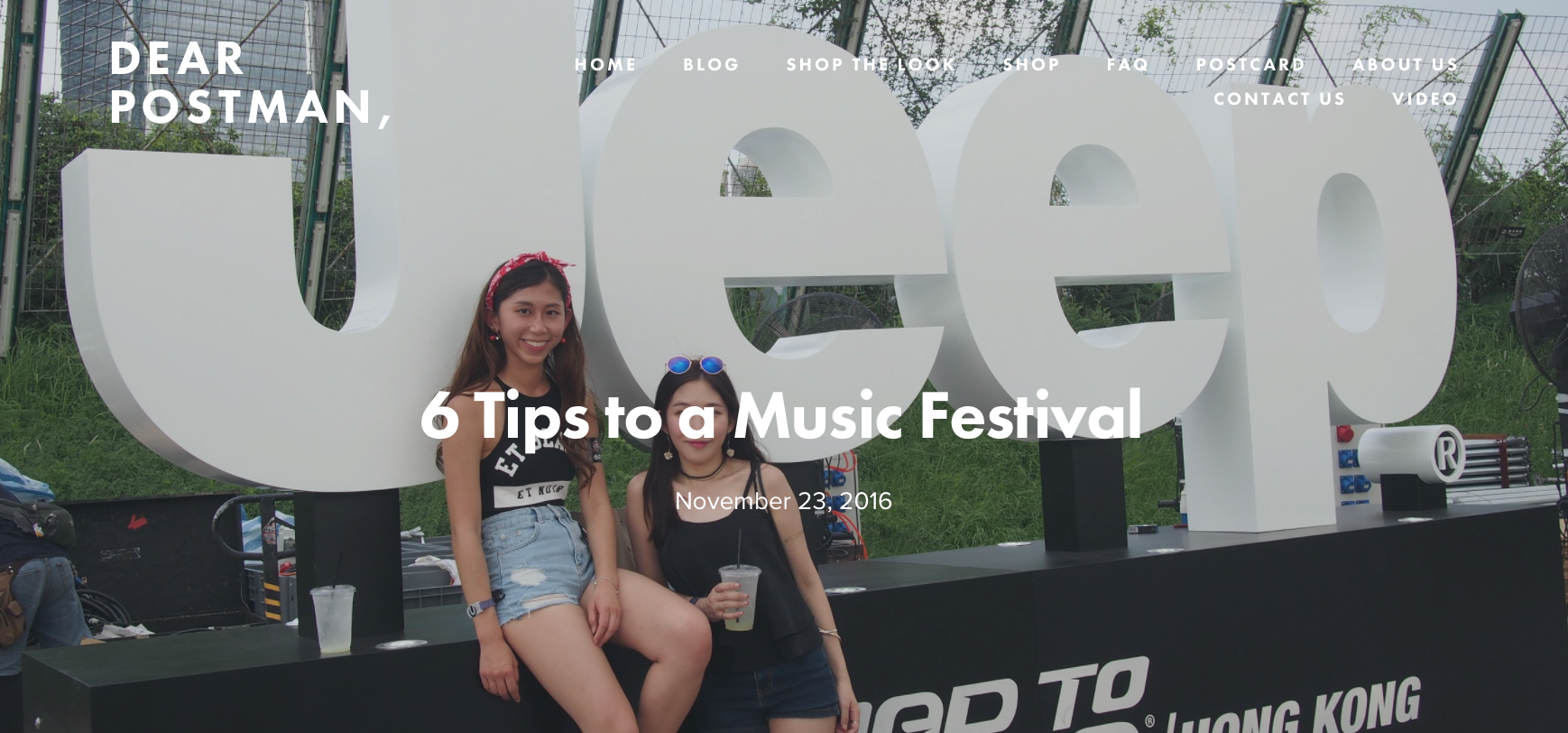 6 Tips to a Music Festival