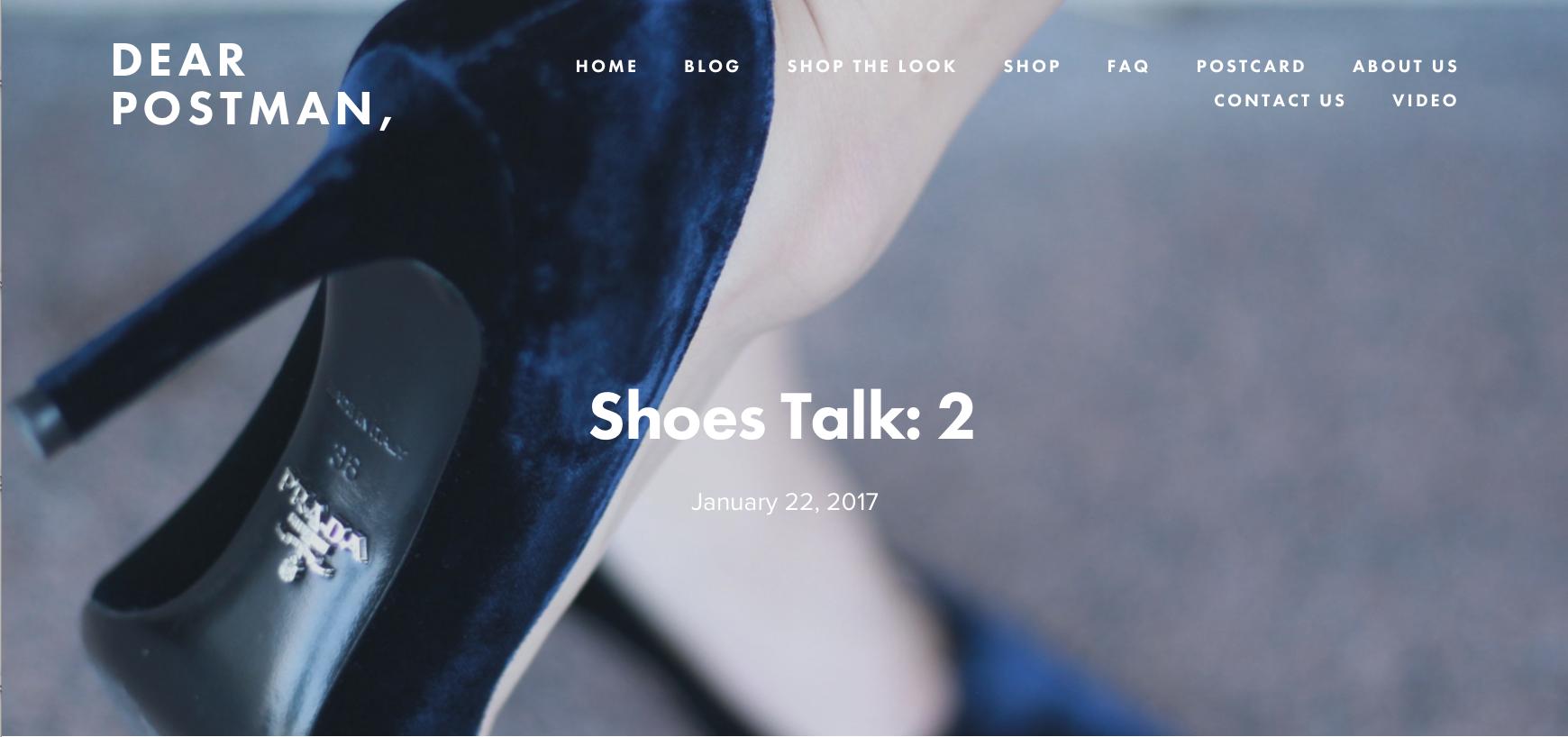 Shoes Talk: 2