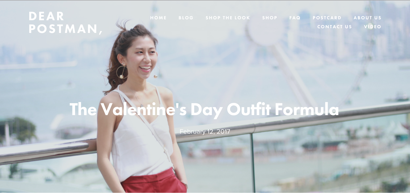 The Valentine's Day Outfit Formula