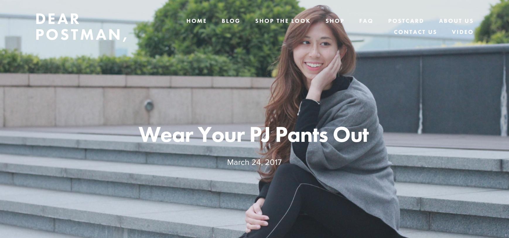 Wear Your PJ Pants Out