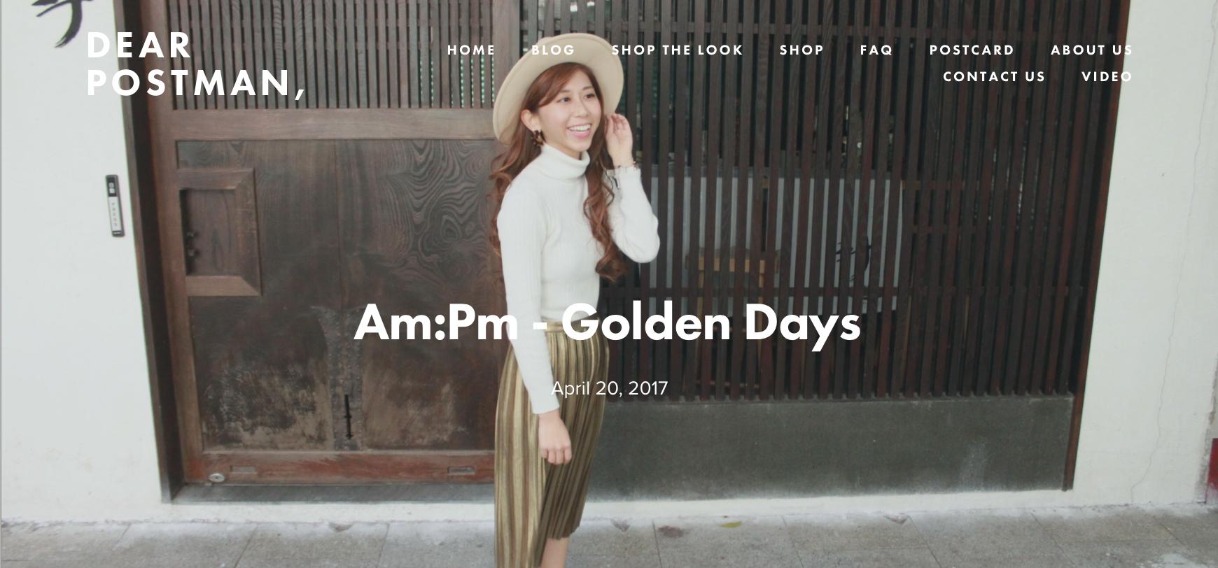 Am:Pm - Golden Days
